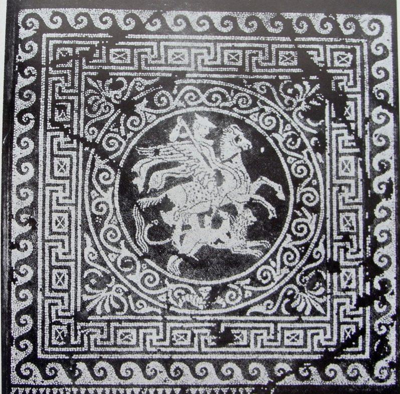 mosaico di bellerofonte