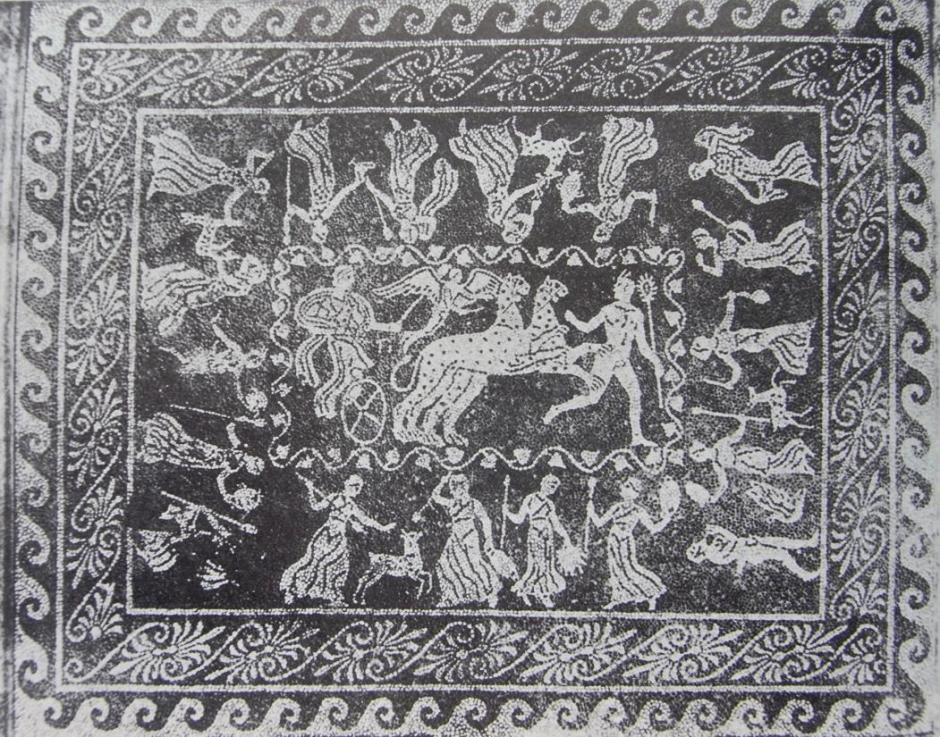 mosaico di dioniso