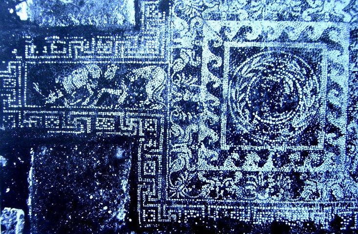mosaico delle doppie sfingi