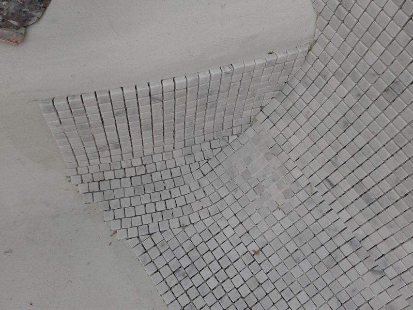 Posa mosaico piscina fase f 1vposa raccordi 2 i mosaici del laboratorio san luca - Piscina rivarolo ...