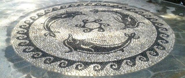 tondo di mosaico