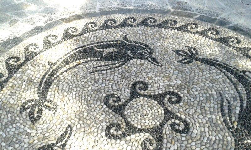 decorazione in mosaico