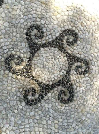 mosaico sole di onde