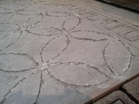traccia per mosaico