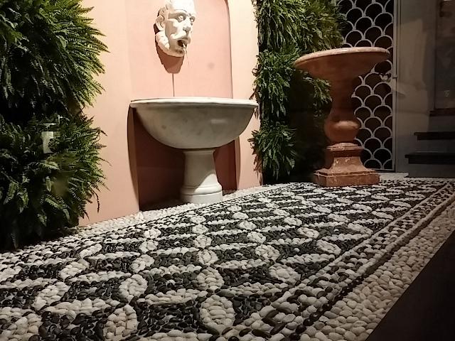 tappeto di mosaico