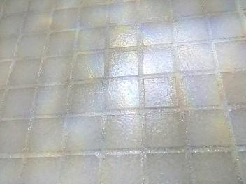effetto mosaico iridescente