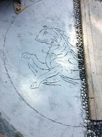 pantera mosaico