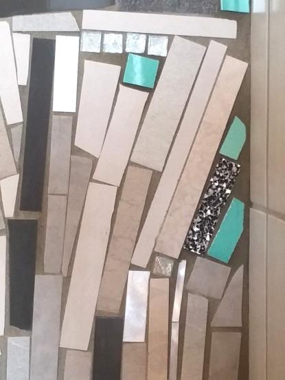 trencadis contemporaneo - mosaico di piastrelle