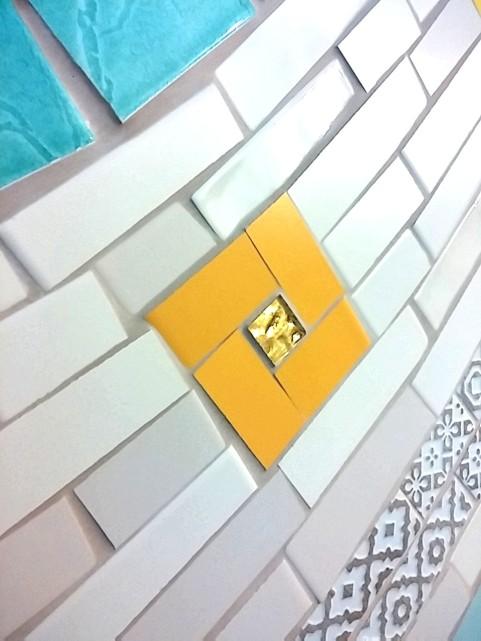 trencadis broken tiles mosaic
