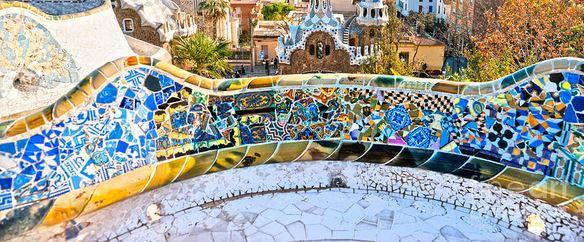 parc guell di Gaudì