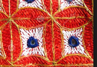 ricamo mosaico indiano