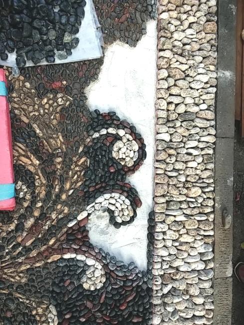 restauro mosaico cicagna